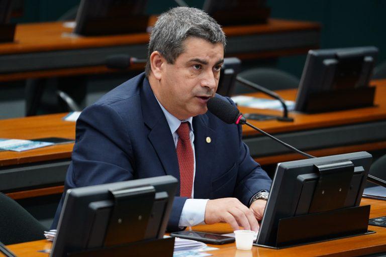 Reunião ordinária para continuação da discussão e votação do parecer do relator, dep. Samuel Moreira (PSDB/SP). Dep. Coronel Tadeu (PSL-SP)