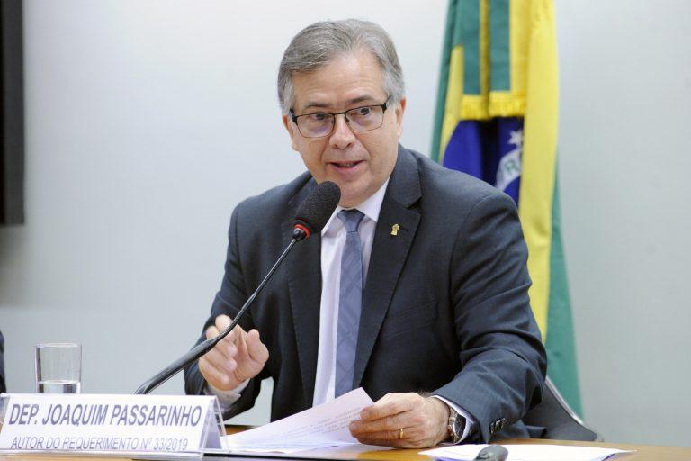 Audiência Pública sobre a atuação da Agência Nacional de Mineração (ANM). Dep. Joaquim Passarinho (PSD-PA)