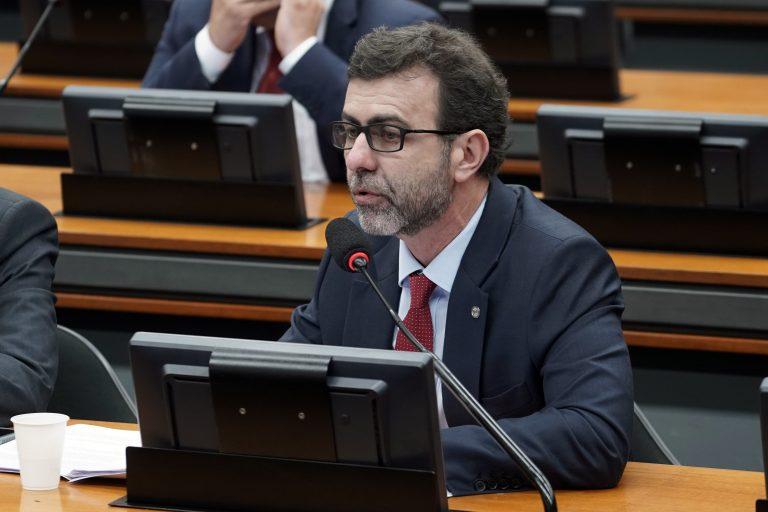 Reunião Ordinária para discussão e votação do parecer do relator, dep. Samuel Moreira (PSDB/SP). Dep. Marcelo Freixo (PSOL-RJ)