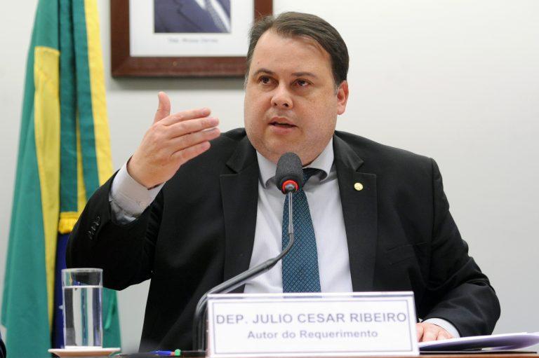 Audiência pública para debater o PL 2.937/2019, que redistribui os recursos das loterias. Dep. Julio Cesar Ribeiro (PRB-DF)