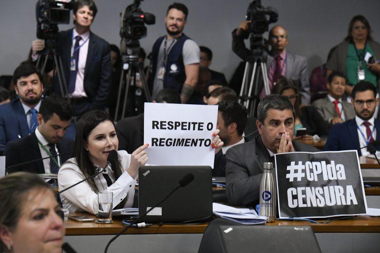 Governo obstrui reunião da CPMI das Fake News - Notícias - Portal ...