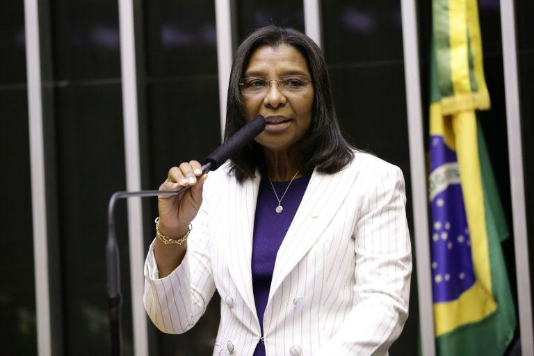 Deputada Rosangela Gomes discursa no Plenário da Câmara