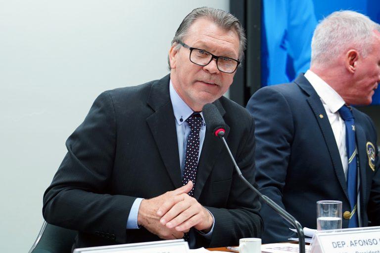 Audiência pública sobre o doping no esporte, um assunto de saúde pública. Dep. Afonso Hamm (PP-RS)