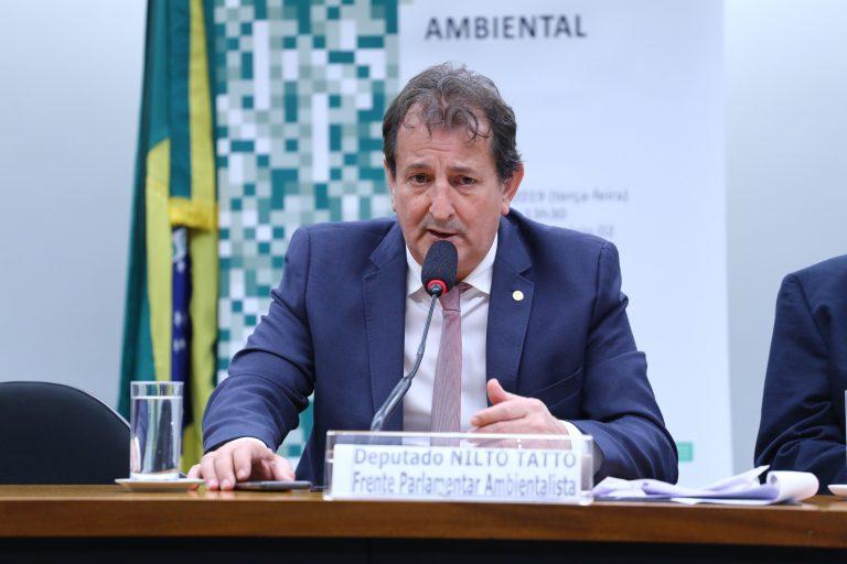 """Seminário - Tema: """"As Pequenas Centrais Hidrelétricas e o Licenciamento Ambiental"""". Dep. Nilto Tatto (PT - SP)"""