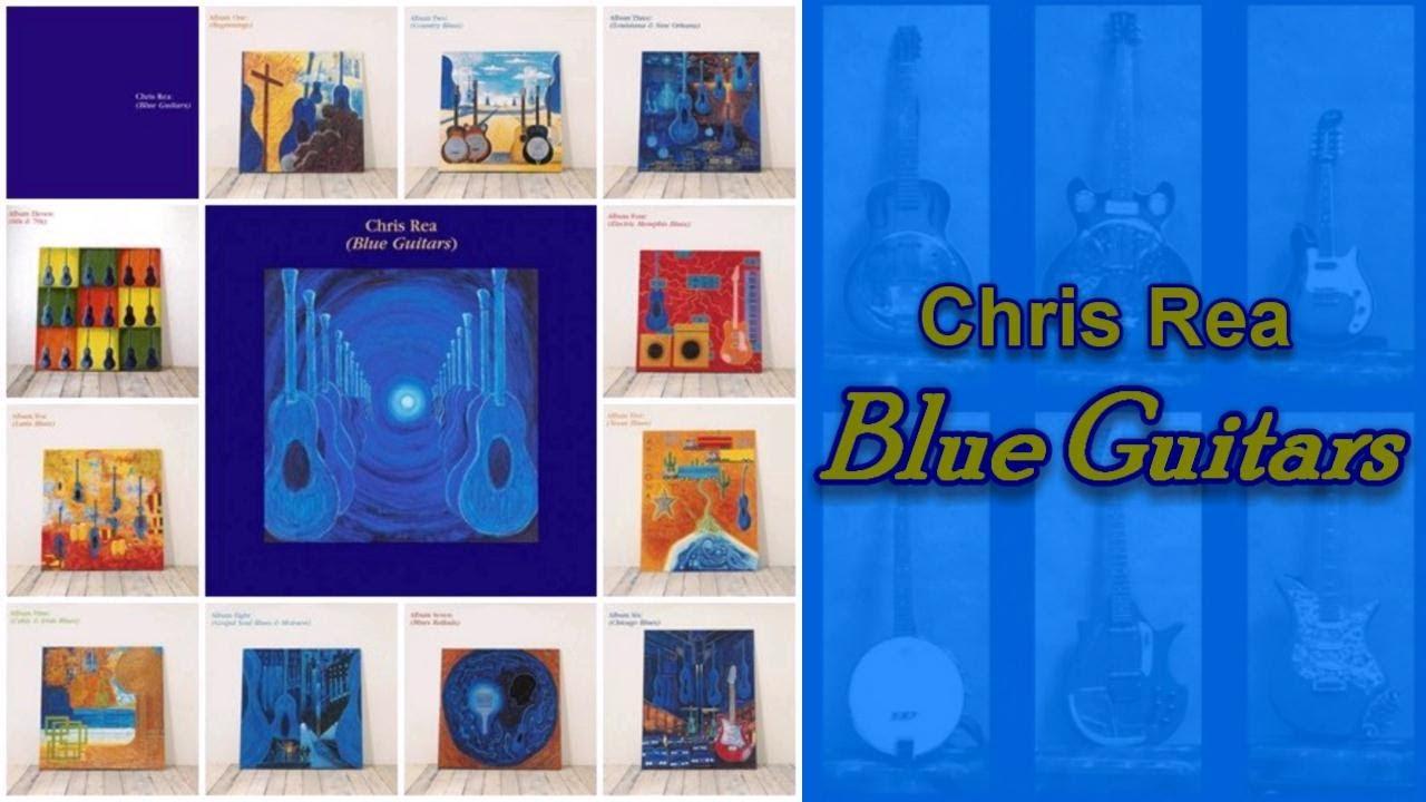 Capa Chris Rea conta a história do blues em 137 canções distribuídas em 11 discos