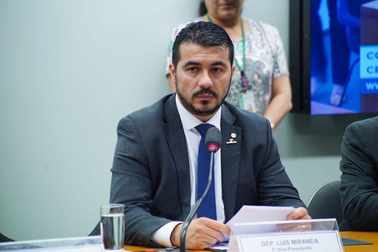 Audiência Pública - C. E. Banco Central Regular Moedas Virtuais (PL 2303/15). Dep. Luis Miranda (DEM - DF)