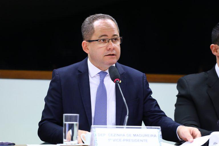 Reunião Ordinária Pauta: Oitivas. Dep. Cezinha de Madureira (PSD - SP)