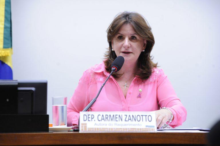 """Audiência Pública - Pauta: """"Programa Nacional de Atenção Integral às Pessoas com Doença Falciforme"""". Dep. Carmen Zanotto (CIDADANIA-SC)"""