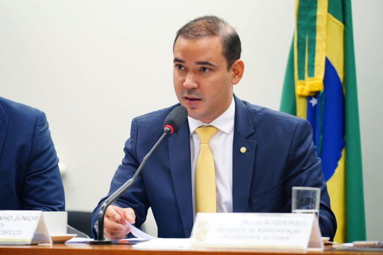 """Audiência Pública -Tema: """"Programa de Segurança Pública a ser implementado no Estado do Ceará."""" Dep. Vicentinho Júnior (PL-TO)"""