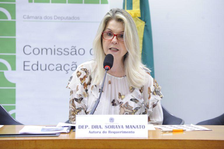 """Audiência Pública - Tema: """"Enfrentamento da violência nas escolas"""". Dep. Dra. Soraya Manato (PSL - ES)"""