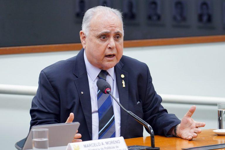 """Audiência Pública - Tema: """"Projeto do Programa Nac. de Enfrentamento à Criminalidade Violenta."""" Dep. Roberto Pessoa (PSDB-CE)"""