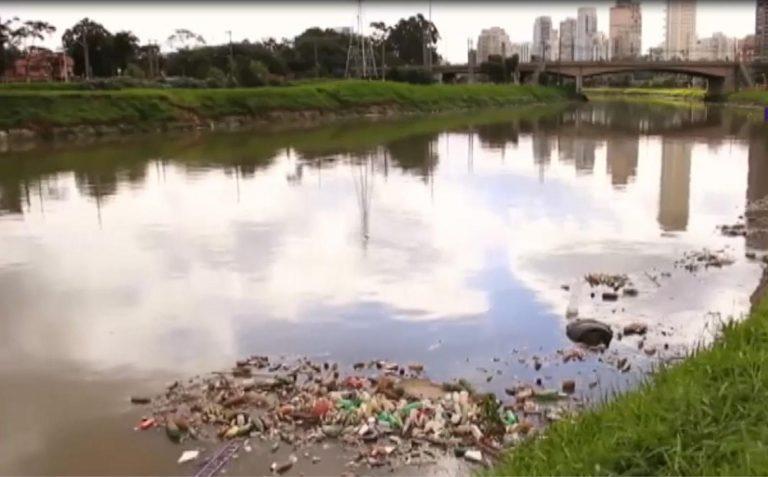 Meio Ambiente - água - rios urbanos poluídos esgotos saneamento básico lixo dejetos poluição