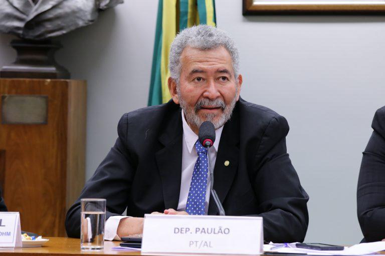 """Audiência Pública - Tema: """"Lançamento do Aplicativo de combate à LGBTIfobia - TIA LÚ"""". Dep. Paulão (PT-AL)"""