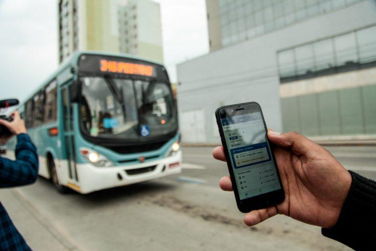 Transporte - ônibus - aplicativo passageiros linhas horários tecnologia