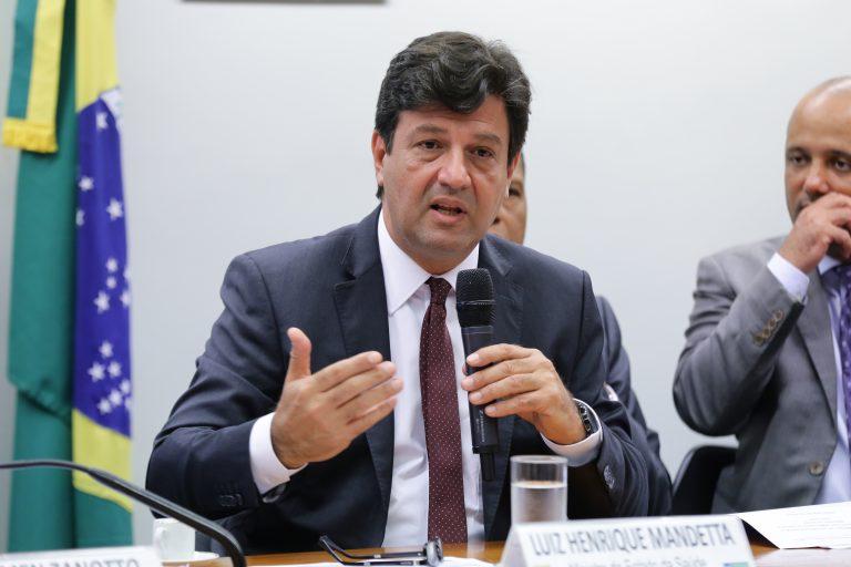 CORONONAVÍRUS: situação epidemiológica no Brasil, no Mundo, e ações do SUS. Ministro da Saúde, Luiz Henrique Mandetta