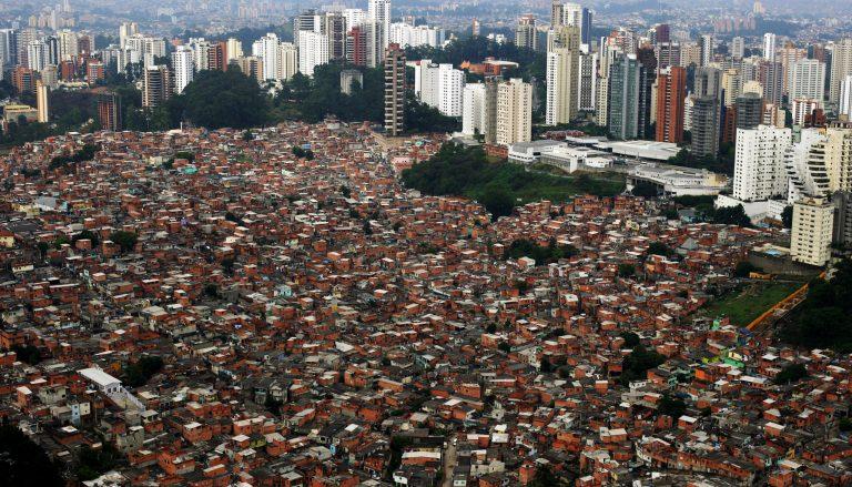 Cidades - geral - favelas desigualdade social São Paulo casas apartamentos