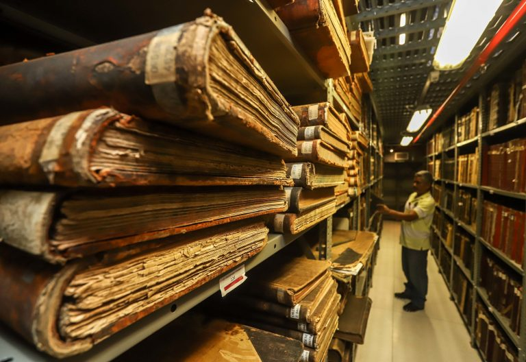 História do Brasil - arquivologia conservação documentos históricos Arquivo Público do estado de São Paulo