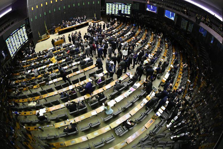 Câmara - plenário - votações