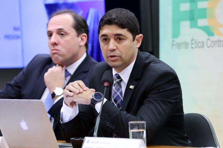 Seminário - Tema: Acordos de Leniência. Ministro da CGU, Wagner Rosário