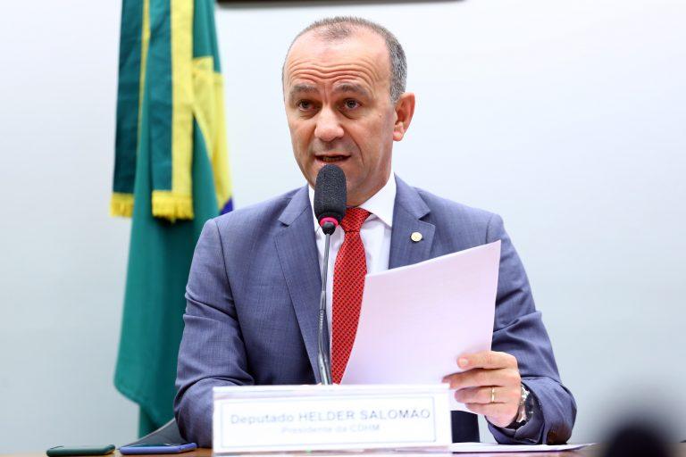 """Audiência Pública - Tema: """"Impacto dos resíduos tóxicos para os direitos humanos"""". Dep. Helder Salomão (PT - ES)"""