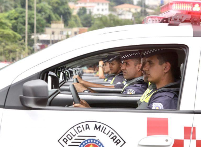 Segurança - policiais - viaturas PM polícia militar
