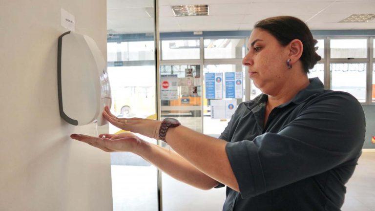 Saúde - campanhas - prevenção coronavírus gripes doenças higiene mãos álcool gel higienização