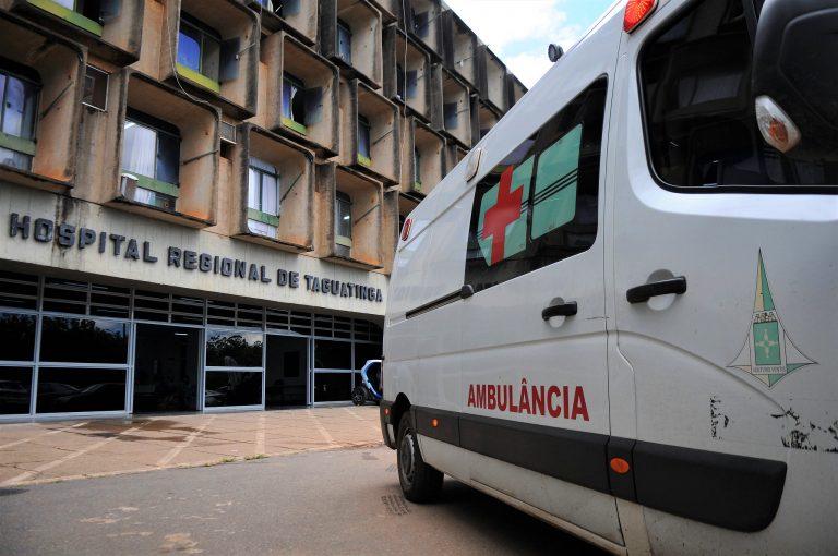 Saúde - hospitais - ambulâncias atendimentos médicos pronto-socorro (Hospital Regional de Taguatinga-DF)