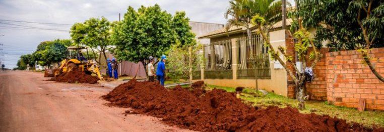 Cidades - infraestrutura - saneamento básico rede água esgotos obras públicas