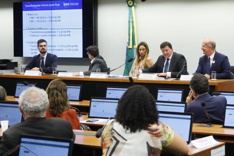 Audiência Pública - Aspectos conceituais sobre transferência de renda para redução da pobreza e desigualdade.