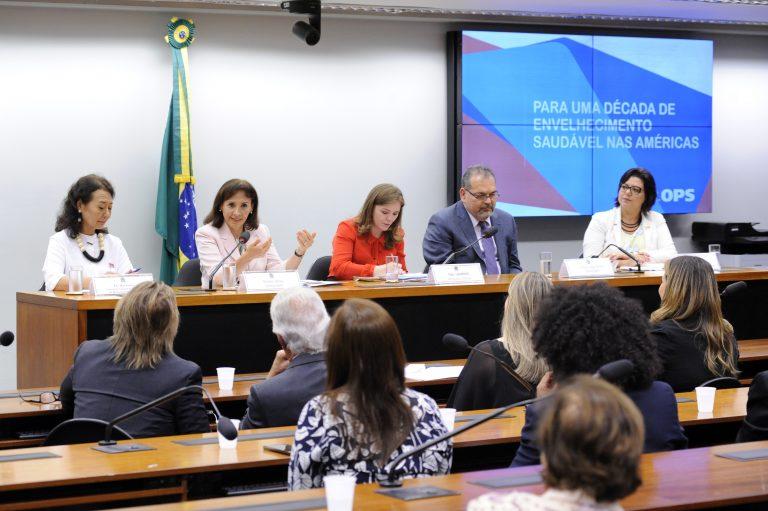 Apresentação da agenda do poder legislativo brasileiro para pessoas idosas e diálogo sobre políticas de curso de vida e desenvolvimento social