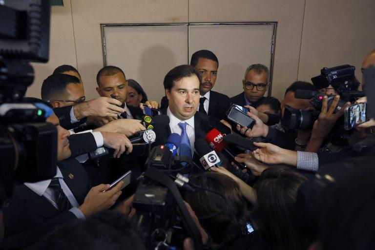 Presidente da Câmara dos Deputados, dep. Rodrigo Maia, participa do Encontro Anual Educação Já
