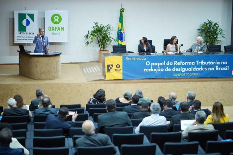 Seminário - O papel da reforma tributária na redução de desigualdades no Brasil