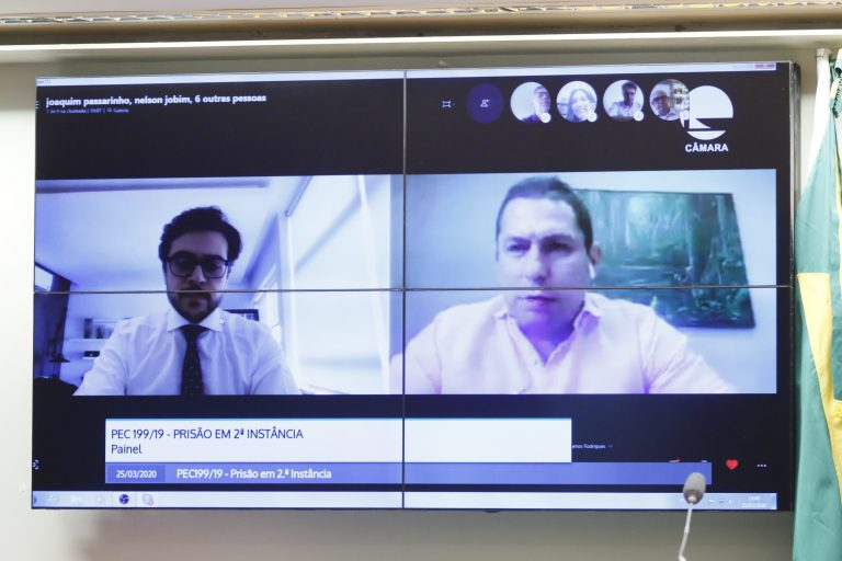Reunião de Trabalho por videoconferência