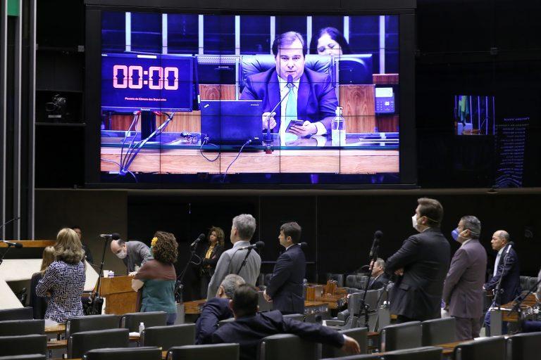 Ordem do dia para votação de propostas. Presidente da Câmara dos Deputados, dep. Rodrigo Maia (DEM - RJ)