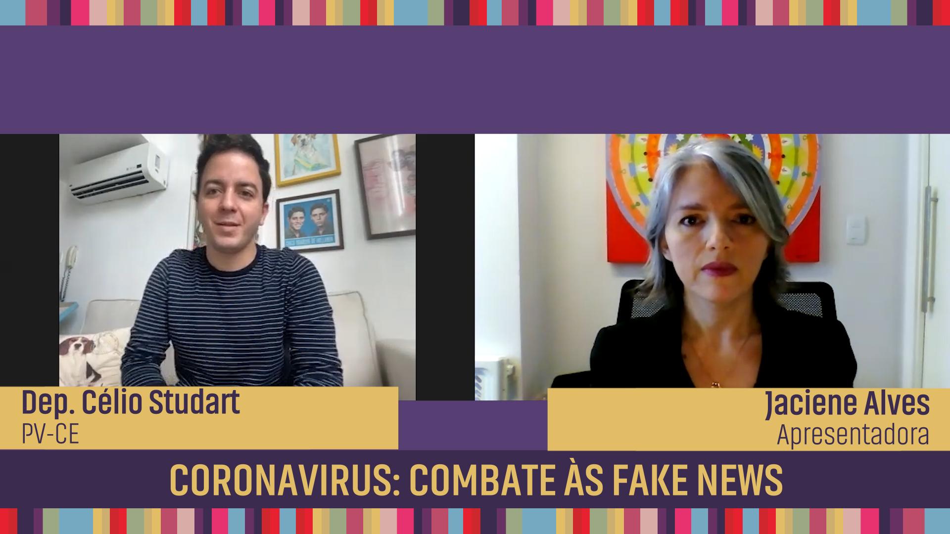 Coronavirus: combate às fake news
