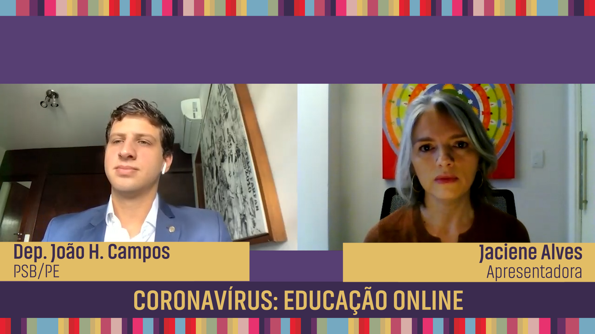 Coronavírus: educação on-line