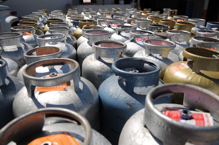 Energia - combustível - gás de cozinha GLP