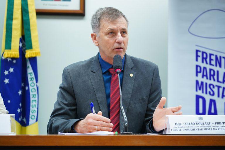 Frente Parlamentar Mista da Educação. Dep. Luizão Goulart (PRB-PR)