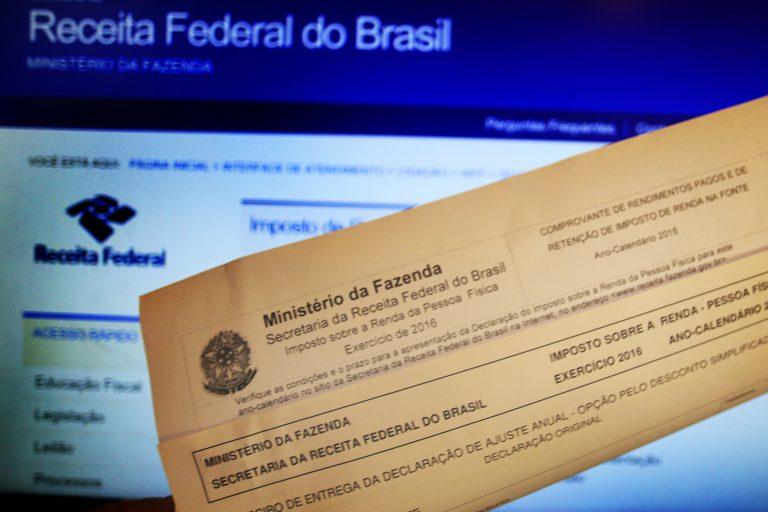 Economia - geral - impostos arrecadação tributos administração Receita Federal