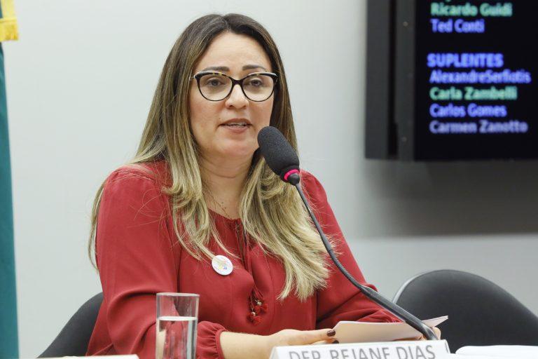 """Audiência Pública - Tema: """"Plano viver sem limite"""". Dep. Rejane Dias (PT - PI)"""