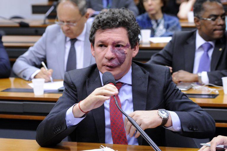 """Tema: """"Elaboração do plano de trabalho."""". Dep. Reginaldo Lopes (PT - MG)"""