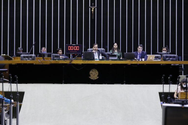 Ordem do dia para votação de propostas legislativas. Presidente da Câmara dos Deptuados, dep. Rodrigo Maia (DEM - RJ)