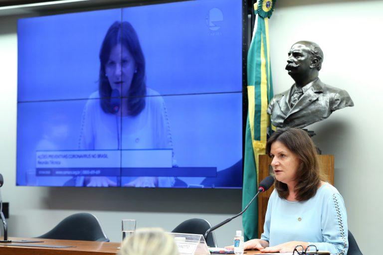 Debate sobre a situação das Instituições de Longa Permanência para Idosos durante a pandemia do coronavírus. Dep. Carmen Zanotto (CIDADANIA - SC)