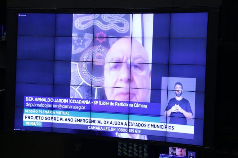 Ordem do dia para votação de propostas legislativas. Dep. Arnaldo Jardim (CIDADANIA - SP)