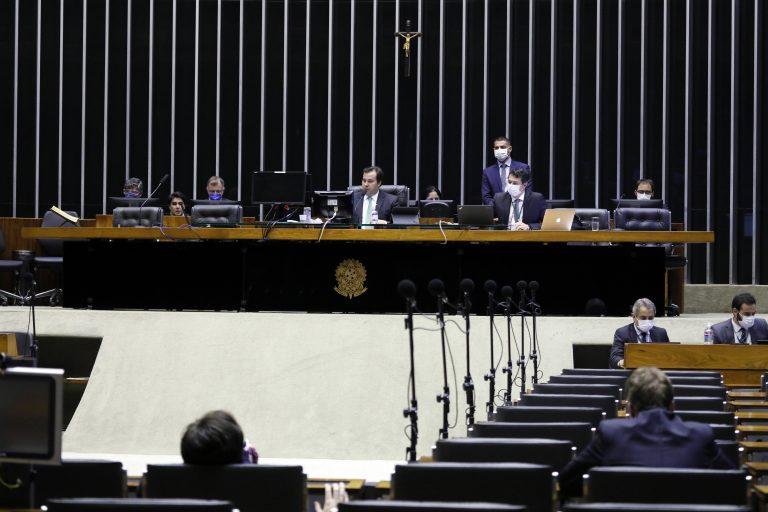 Ordem do dia para votação de propostas legislativas. Presidente da Câmara dos Deputados, dep. Rodrigo Maia