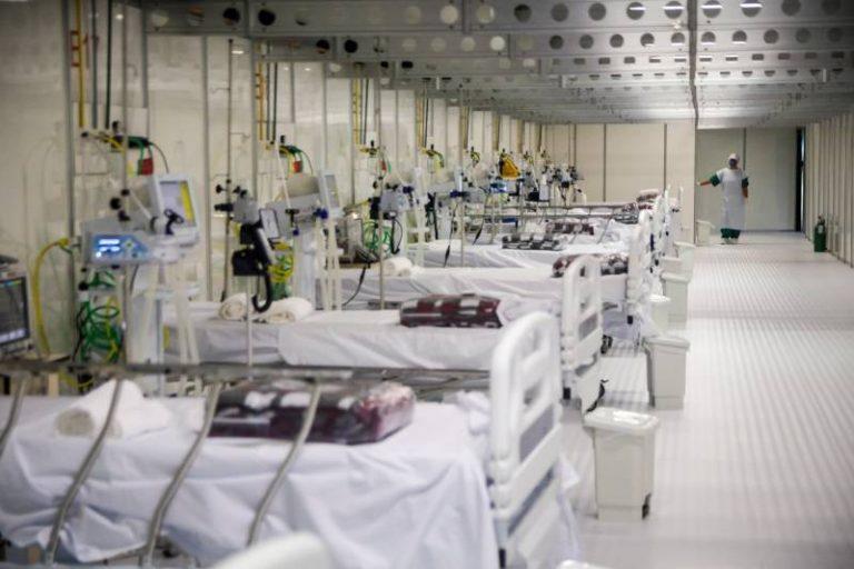Saúde - doenças - coronavírus Covid-19 pandemia leitos hospitalares internação UTIs hospital campanha profissionais saúde (infraestrutura montada no Pará para atender infectados)
