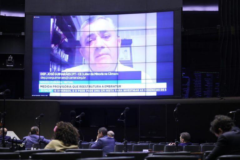 Ordem do dia para votação de propostas legislativas. Dep. José Guimarães (PT - CE)