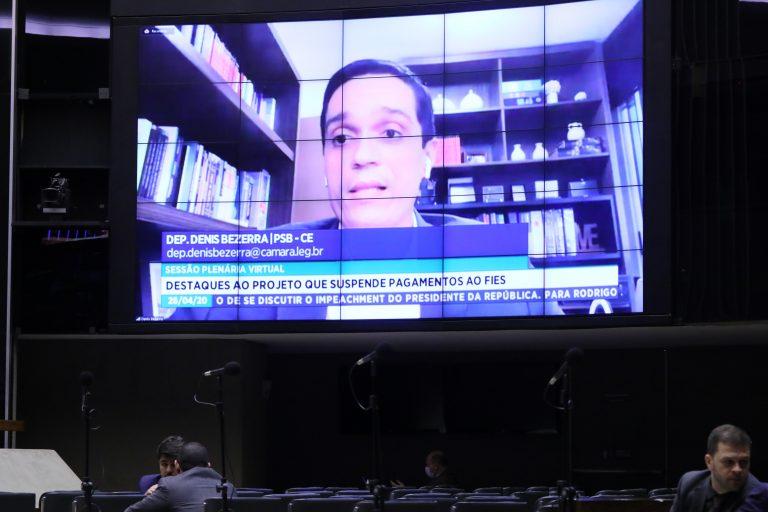 Ordem do dia para votação de propostas legislativas. Dep. Denis Bezerra (PSB - CE)
