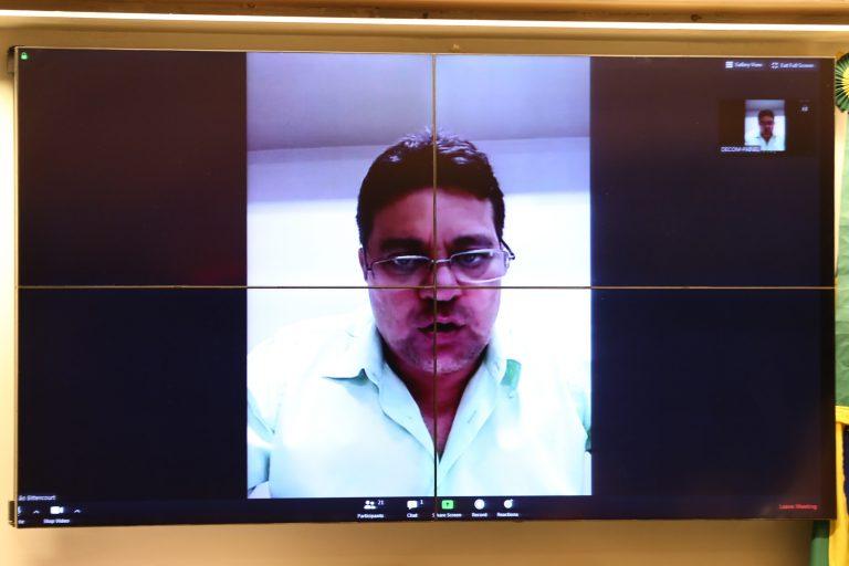 A Situação no Estado do Amapá. Secretário de Estado da Saúde, João Bittencourt da Silva