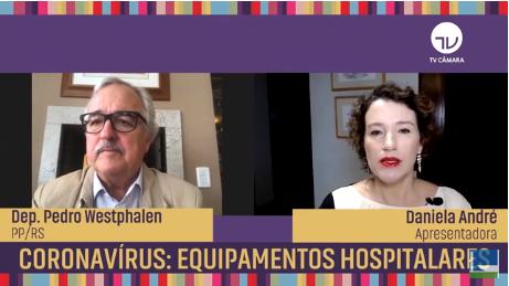 Coronavírus: equipamentos hospitalares